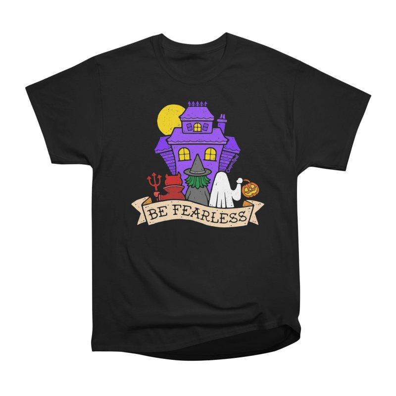 Be Fearless by Casper Spell Men's T-Shirt by Casper Spell's Shop