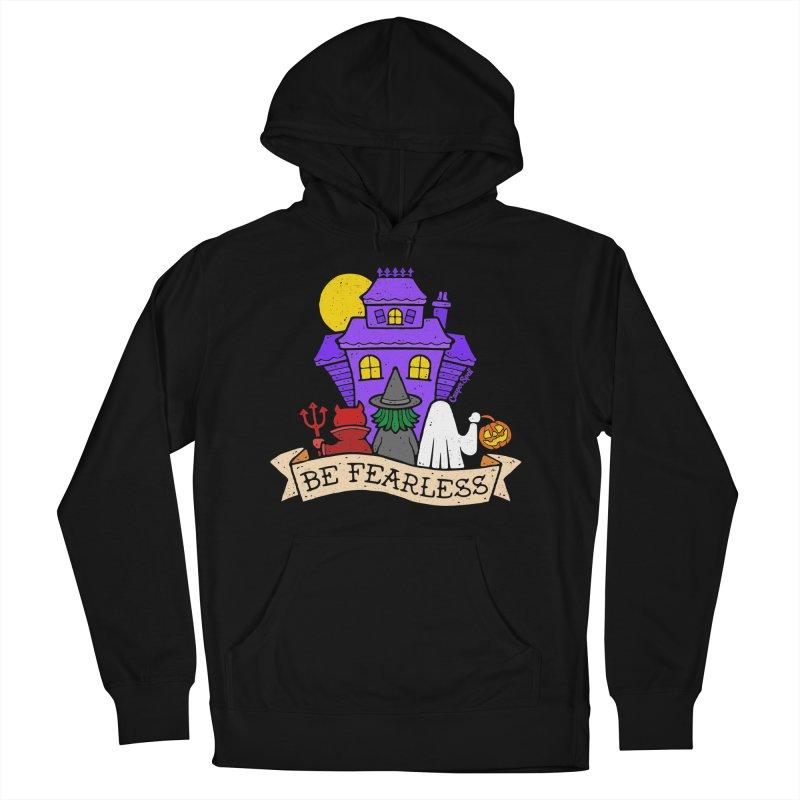 Be Fearless by Casper Spell Men's Pullover Hoody by Casper Spell's Shop