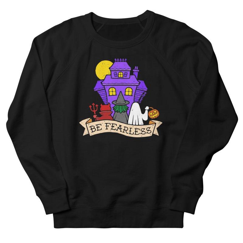 Be Fearless by Casper Spell Men's Sweatshirt by Casper Spell's Shop