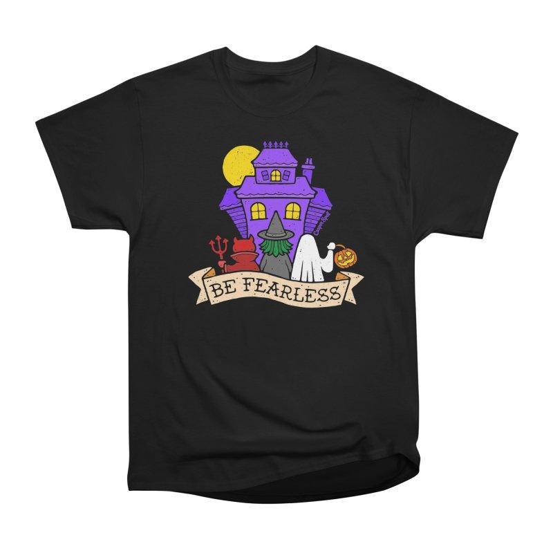 Be Fearless by Casper Spell Women's Classic Unisex T-Shirt by Casper Spell's Shop