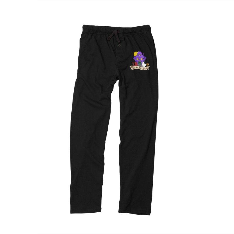 Be Fearless by Casper Spell Men's Lounge Pants by Casper Spell's Shop