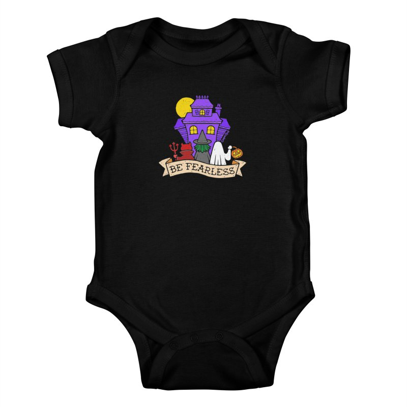 Be Fearless by Casper Spell Kids Baby Bodysuit by Casper Spell's Shop