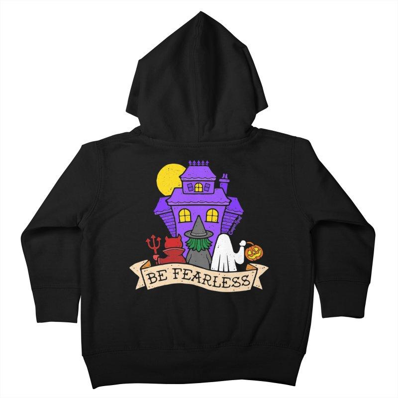 Be Fearless by Casper Spell Kids Toddler Zip-Up Hoody by Casper Spell's Shop
