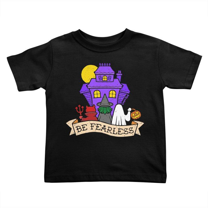 Be Fearless by Casper Spell Kids Toddler T-Shirt by Casper Spell's Shop