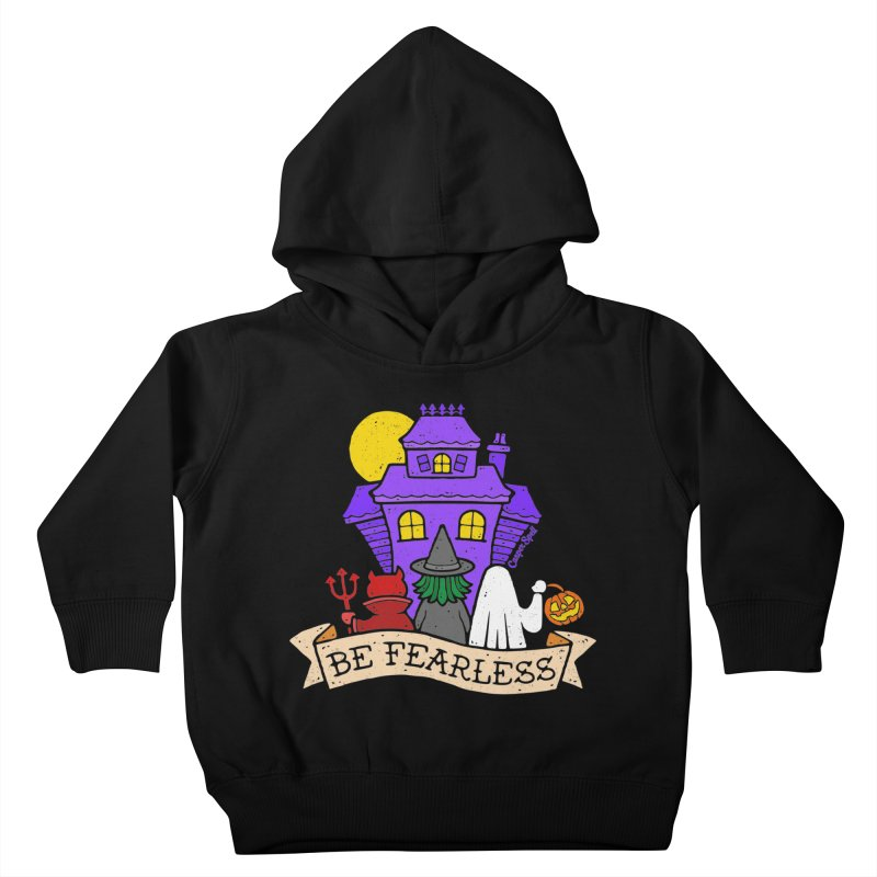 Be Fearless by Casper Spell Kids Toddler Pullover Hoody by Casper Spell's Shop