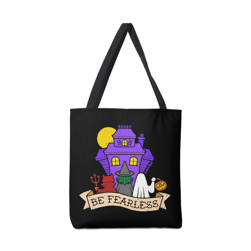 Be Fearless by Casper Spell Accessories Tote Bag Bag by Casper Spell's Shop