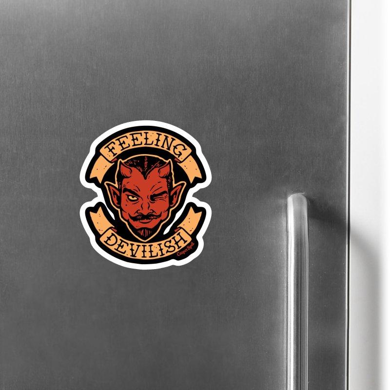 Feeling Devilish Accessories Magnet by Casper Spell's Shop