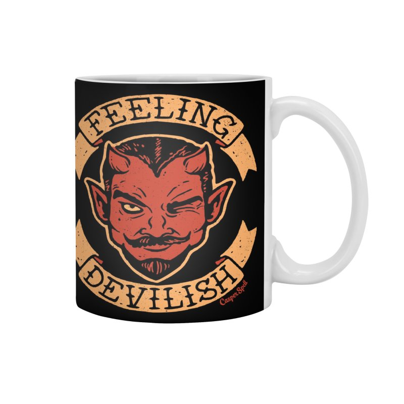 Feeling Devilish Accessories Mug by Casper Spell's Shop
