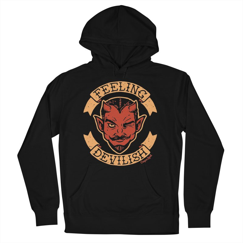 Feeling Devilish Men's Pullover Hoody by Casper Spell's Shop