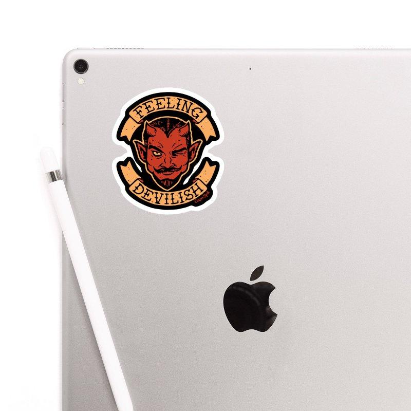 Feeling Devilish Accessories Sticker by Casper Spell's Shop
