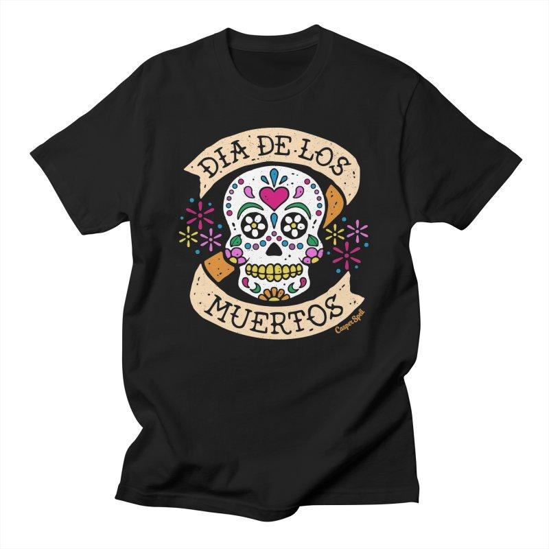 Day of the Dead (Dia de los Muertos) Men's T-Shirt by Casper Spell's Shop