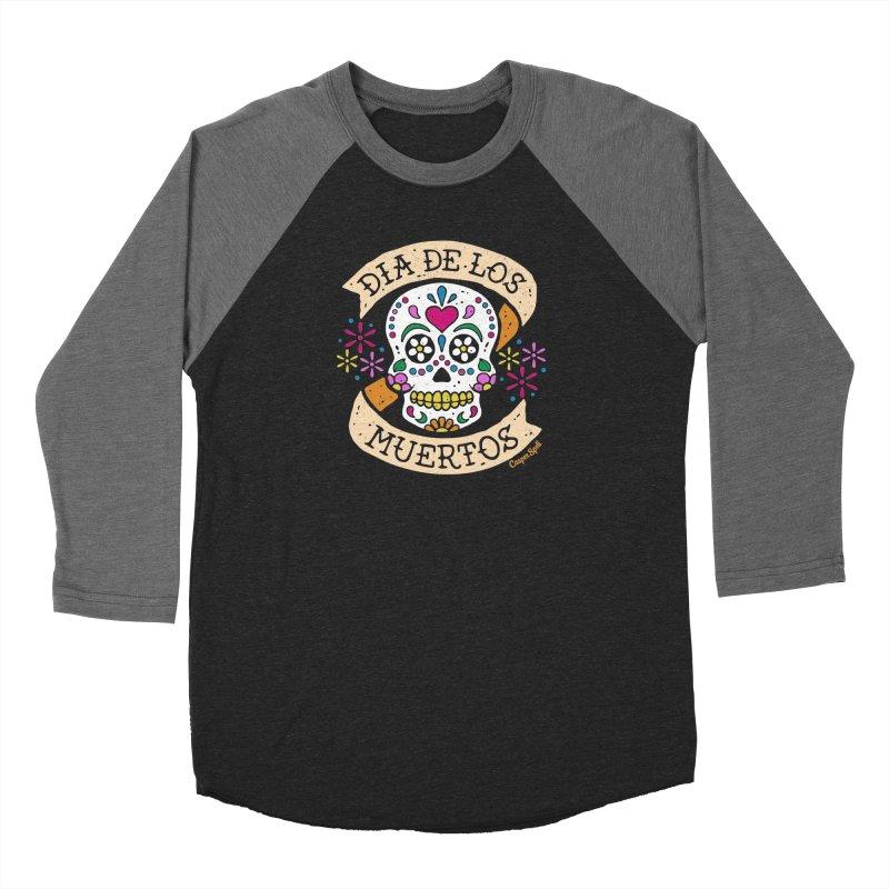 Day of the Dead (Dia de los Muertos) Men's Longsleeve T-Shirt by Casper Spell's Shop