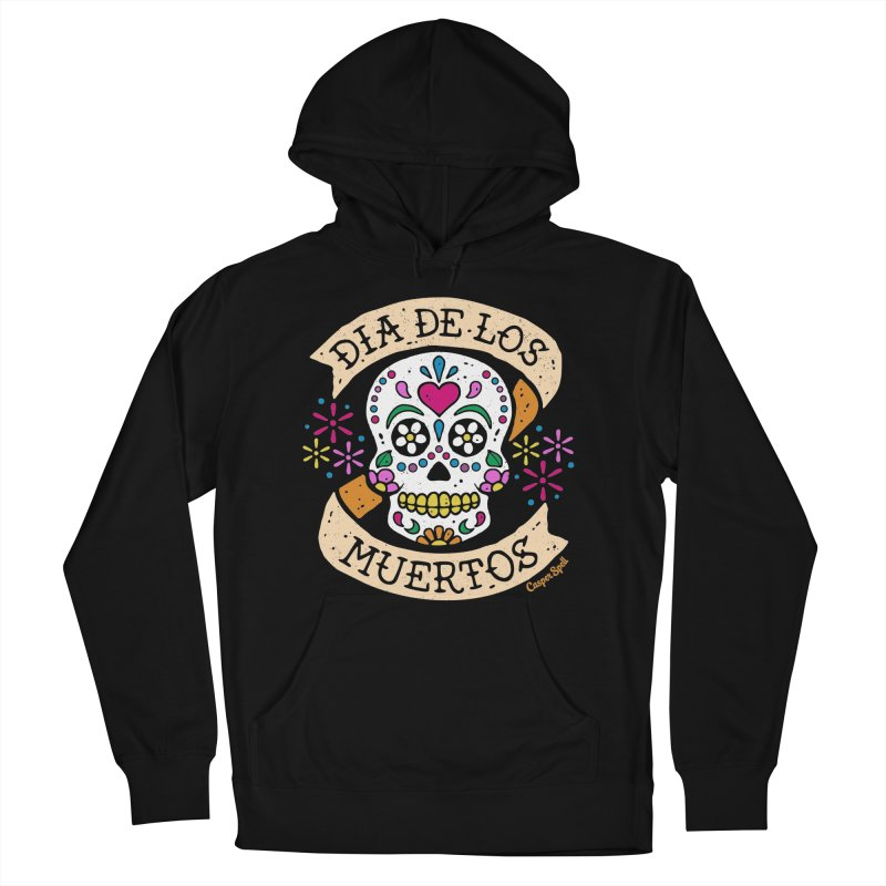 Day of the Dead (Dia de los Muertos) Men's French Terry Pullover Hoody by Casper Spell's Shop
