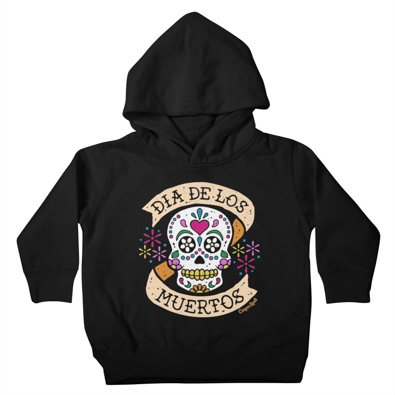 Day of the Dead (Dia de los Muertos) Kids Toddler Pullover Hoody by Casper Spell's Shop