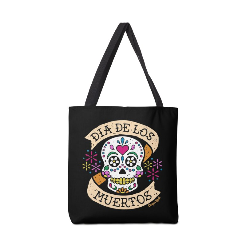 Day of the Dead (Dia de los Muertos) Accessories Bag by Casper Spell's Shop