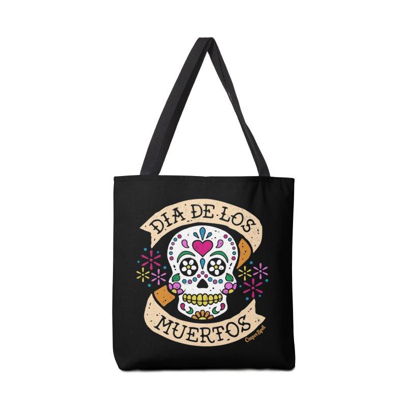 Day of the Dead (Dia de los Muertos) Accessories Bag by Casper Spell's Shop