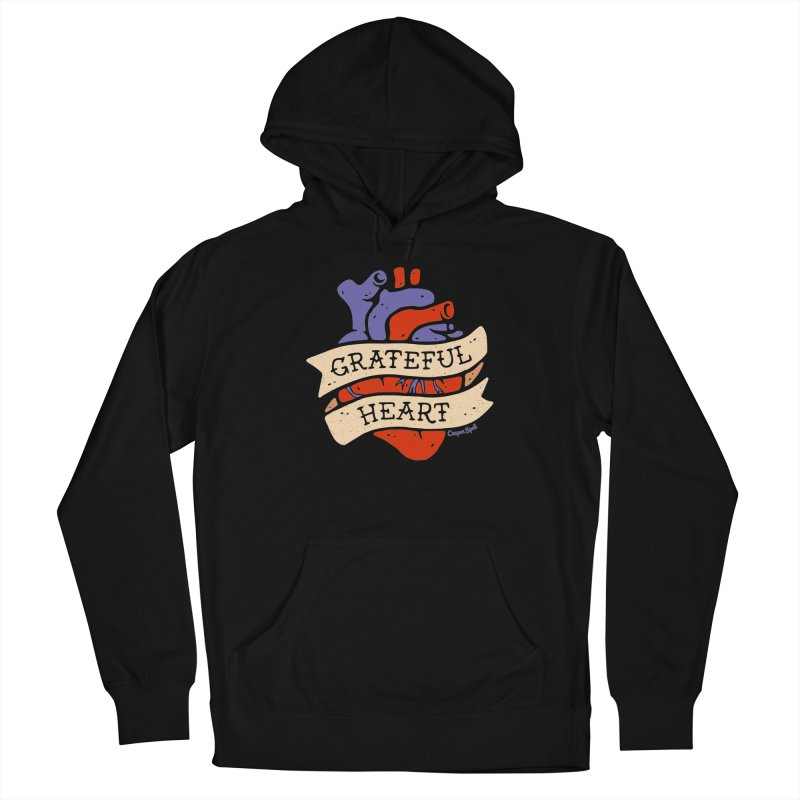 Grateful Heart by Casper Spell Men's Pullover Hoody by Casper Spell's Shop