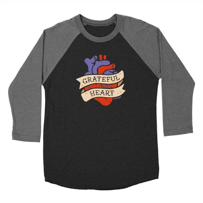 Grateful Heart by Casper Spell Men's Longsleeve T-Shirt by Casper Spell's Shop