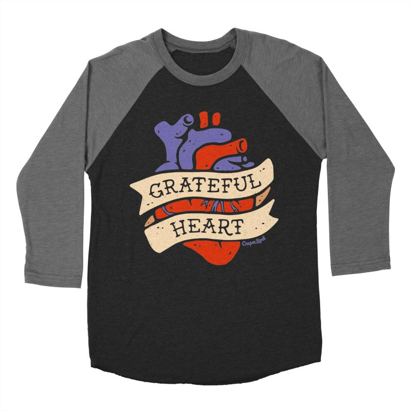 Grateful Heart by Casper Spell Men's  by Casper Spell's Shop