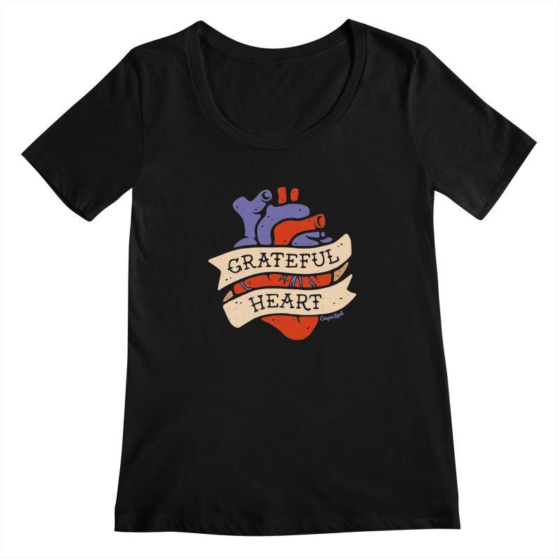 Grateful Heart by Casper Spell Women's  by Casper Spell's Shop