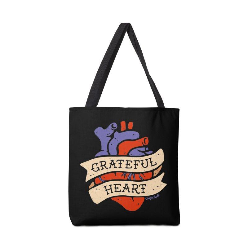 Grateful Heart by Casper Spell Accessories Bag by Casper Spell's Shop