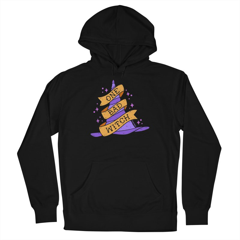 One Bad Witch Men's Pullover Hoody by Casper Spell's Shop