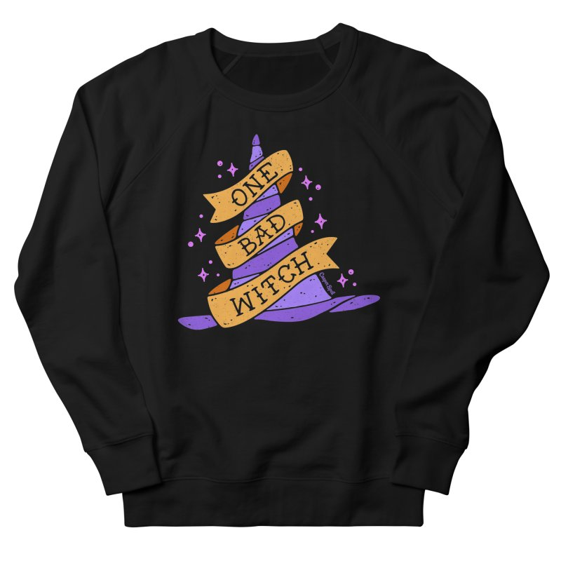 One Bad Witch Men's French Terry Sweatshirt by Casper Spell's Shop