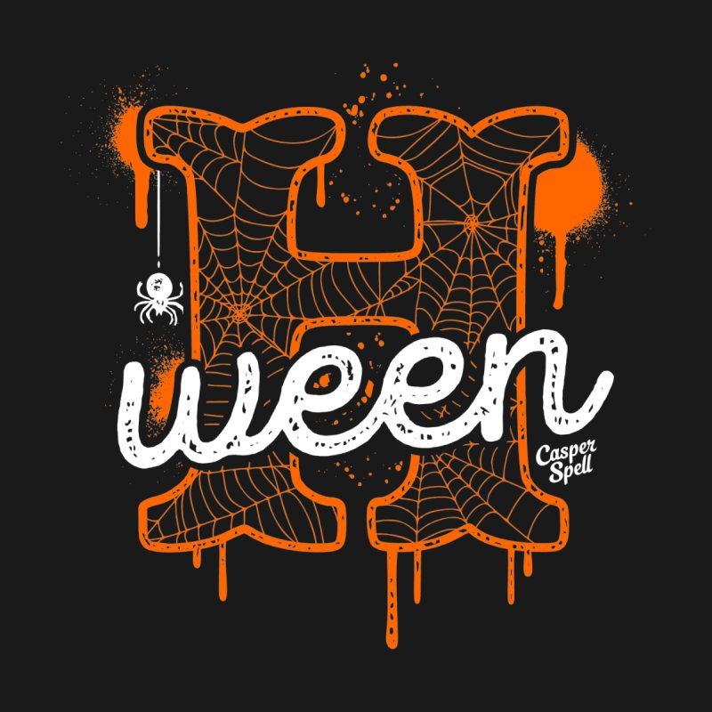 H'ween Home Fine Art Print by Casper Spell's Shop