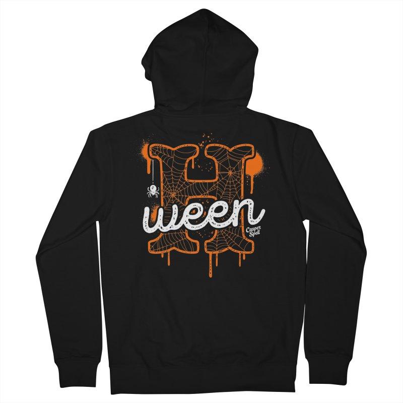 H'ween Men's Zip-Up Hoody by Casper Spell's Shop