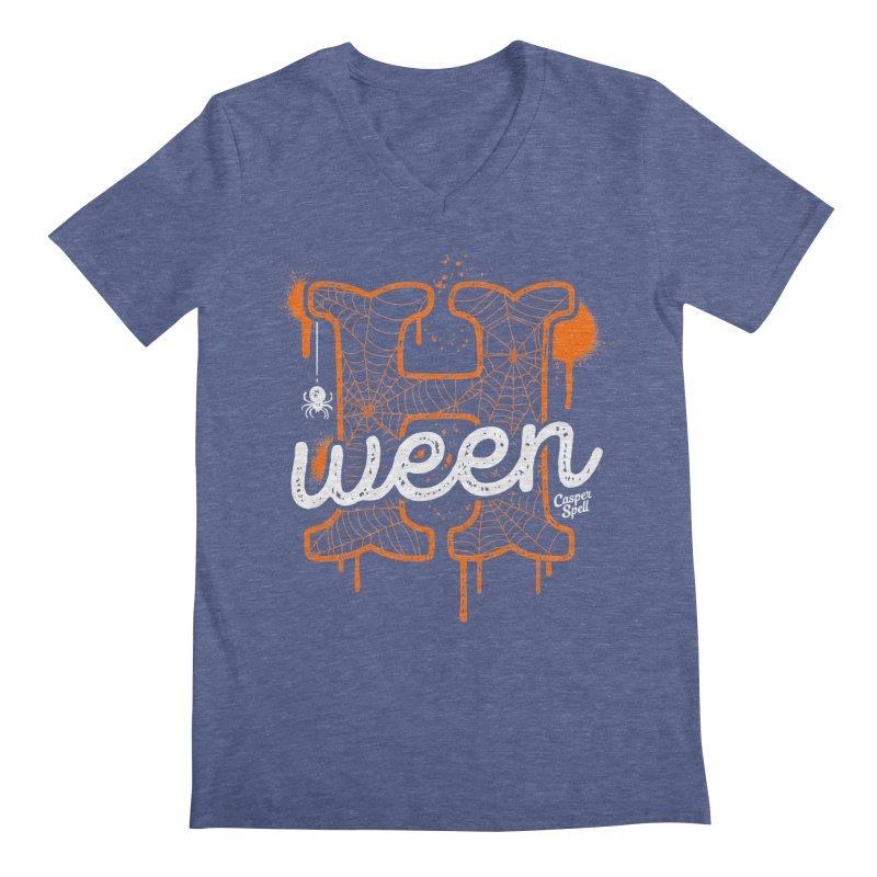 H'ween Men's V-Neck by Casper Spell's Shop