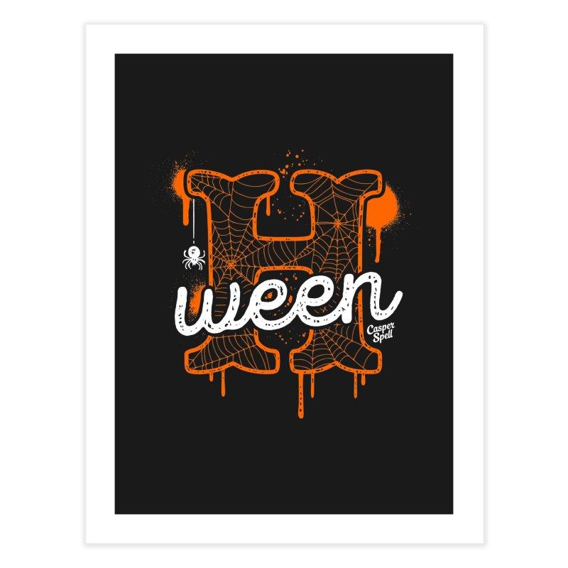H'ween Home Fine Art Print by Casper Spell's Shop