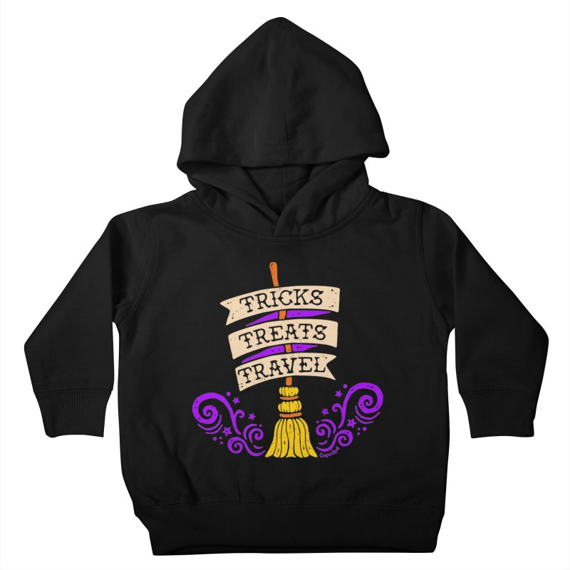 Tricks Treats Travel Kids Toddler Pullover Hoody by Casper Spell's Shop