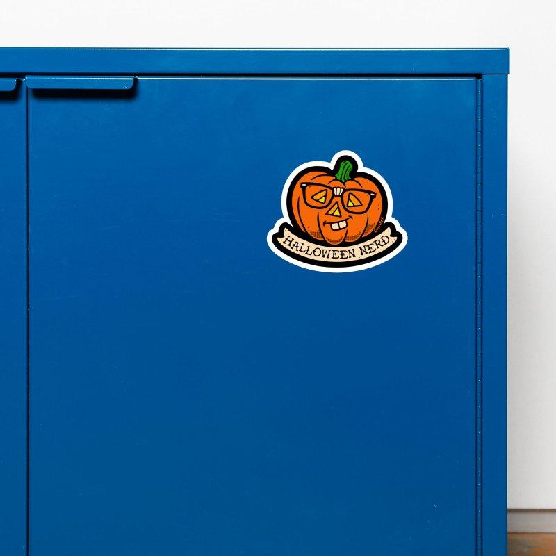 Halloween Nerd Accessories Magnet by Casper Spell's Shop