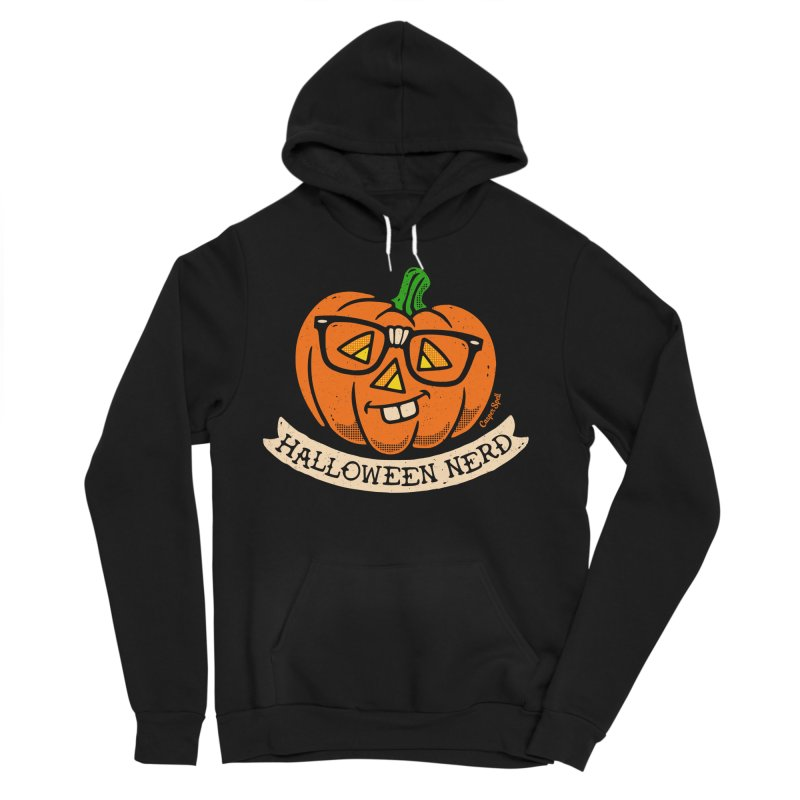 Halloween Nerd Women's Sponge Fleece Pullover Hoody by Casper Spell's Shop