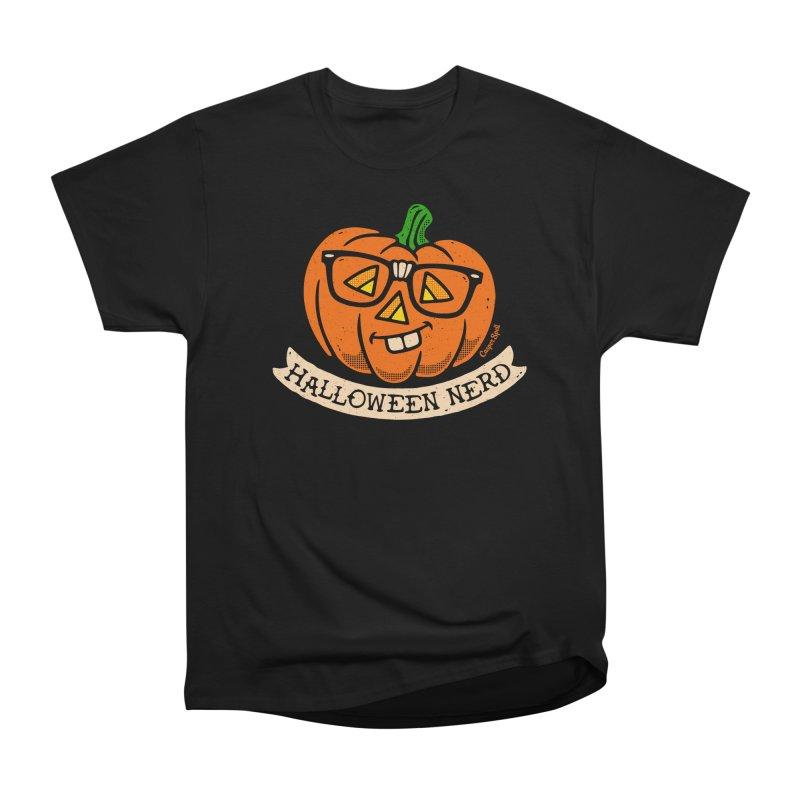 Halloween Nerd Men's T-Shirt by Casper Spell's Shop