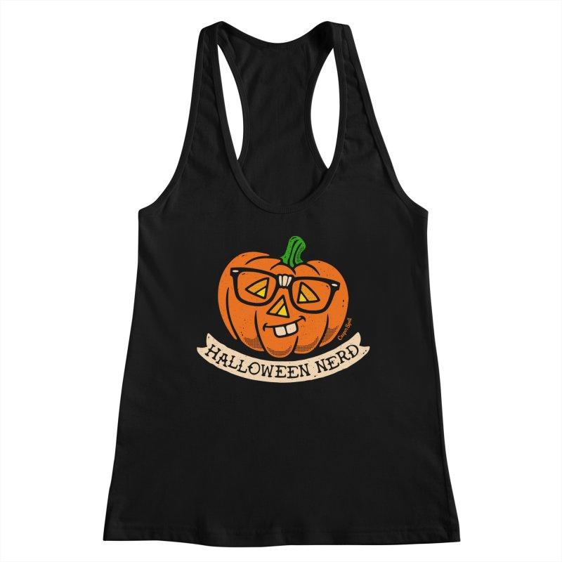 Halloween Nerd Women's Tank by Casper Spell's Shop