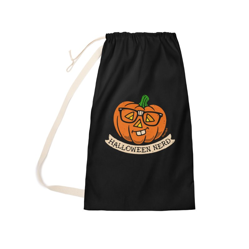 Halloween Nerd Accessories Laundry Bag Bag by Casper Spell's Shop