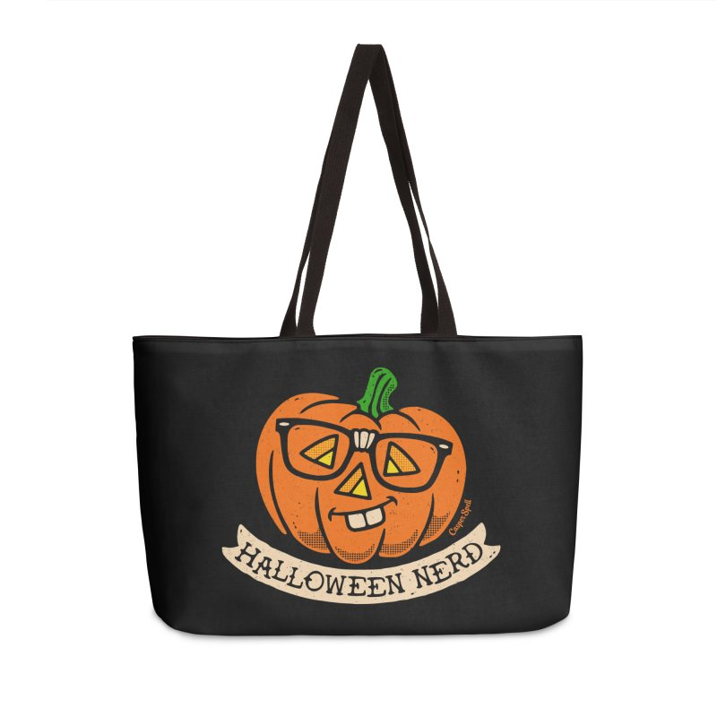 Halloween Nerd Accessories Bag by Casper Spell's Shop