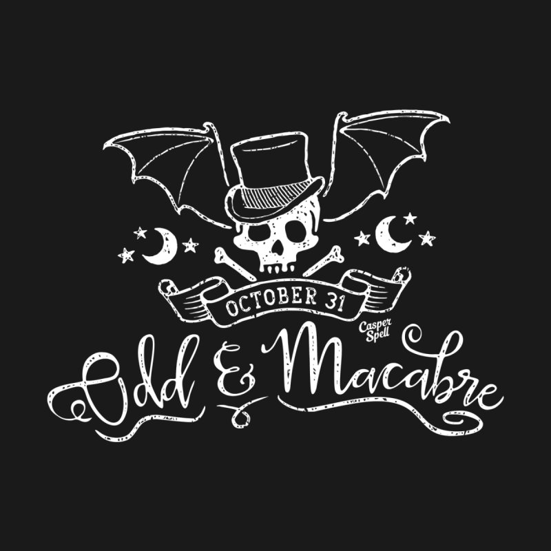 Odd and Macabre Men's T-Shirt by Casper Spell's Shop