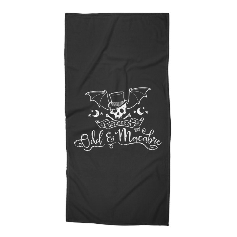 Odd and Macabre Accessories Beach Towel by Casper Spell's Shop