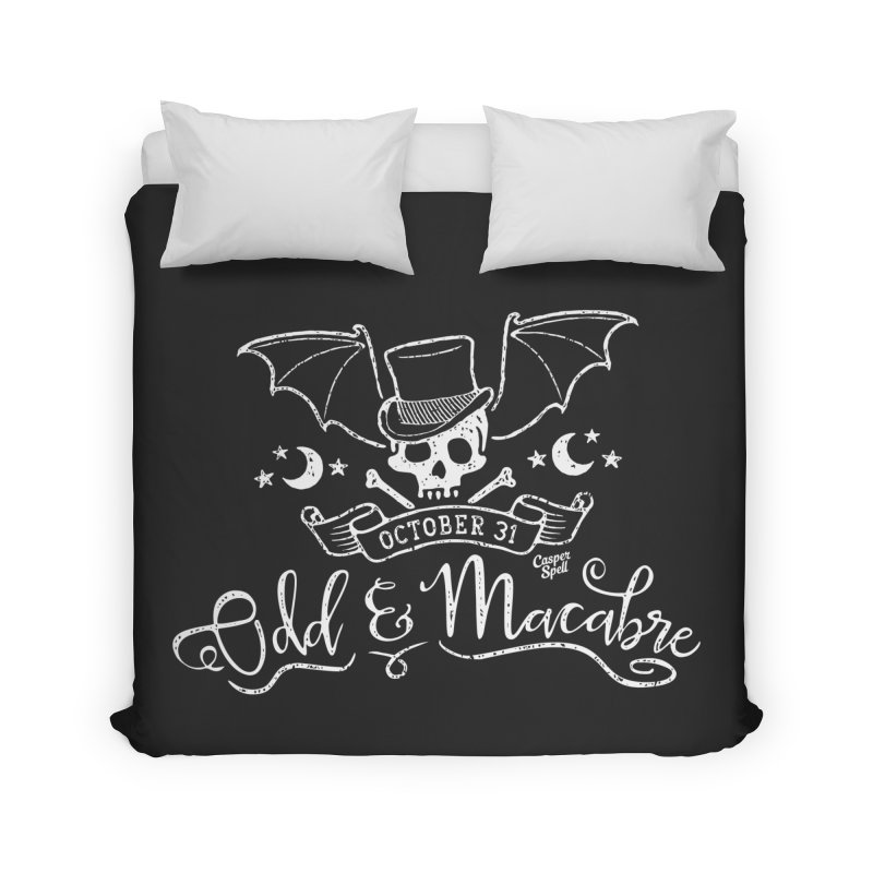 Odd and Macabre Home Duvet by Casper Spell's Shop
