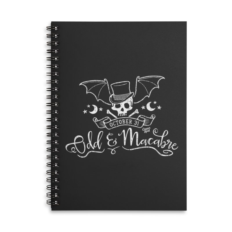 Odd and Macabre Accessories Notebook by Casper Spell's Shop