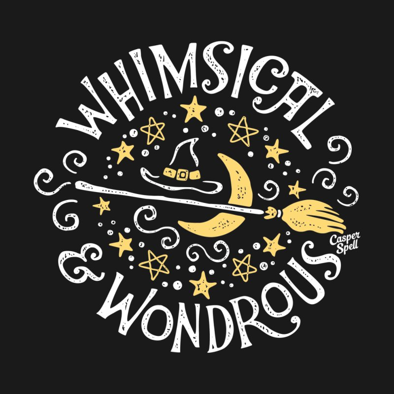 Whimsical and Wondrous Kids T-Shirt by Casper Spell's Shop