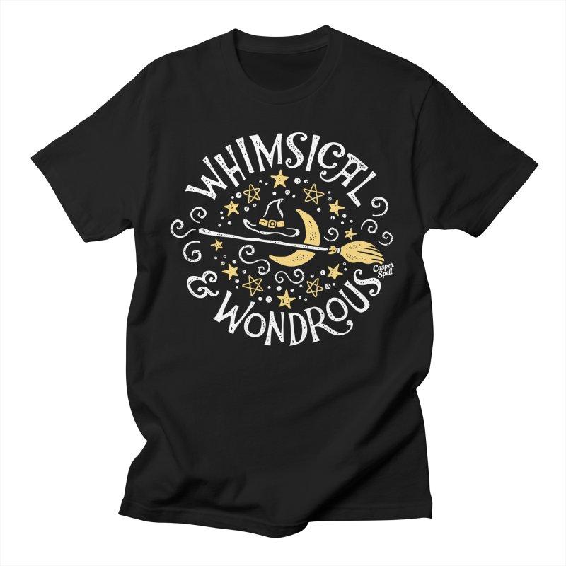Whimsical and Wondrous Men's T-Shirt by Casper Spell's Shop