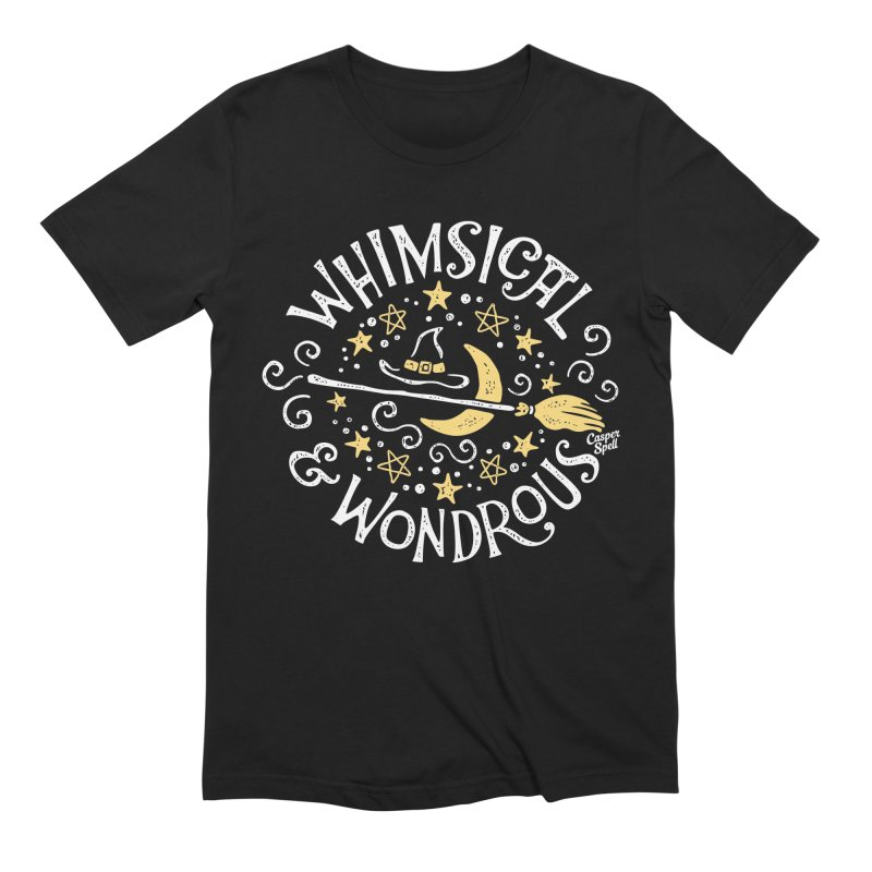 Whimsical and Wondrous Men's T-Shirt by Casper Spell's Shop