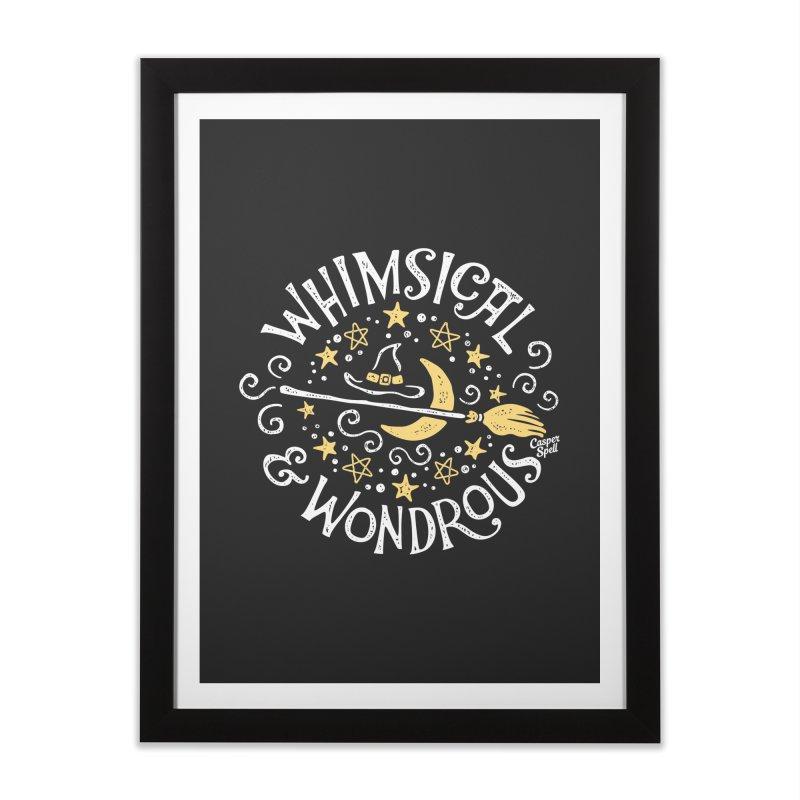 Whimsical and Wondrous Home Framed Fine Art Print by Casper Spell's Shop