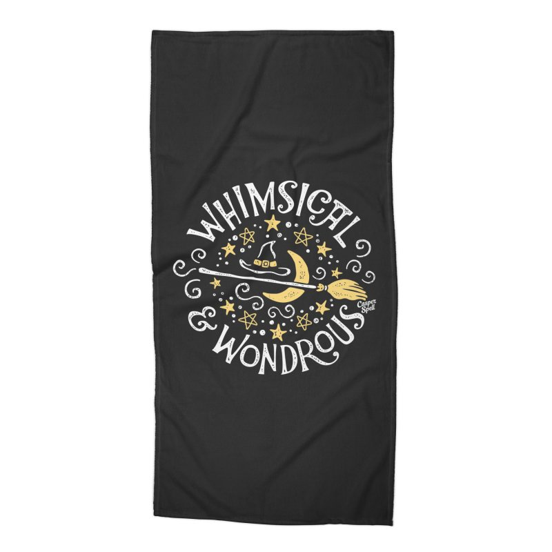 Whimsical and Wondrous Accessories Beach Towel by Casper Spell's Shop