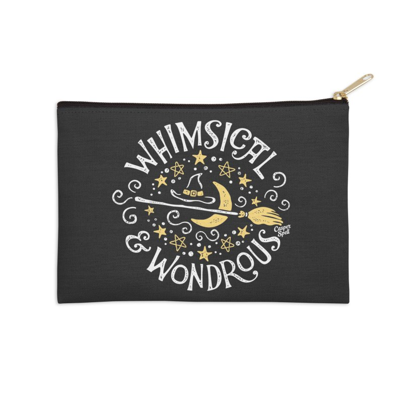 Whimsical and Wondrous Accessories Zip Pouch by Casper Spell's Shop