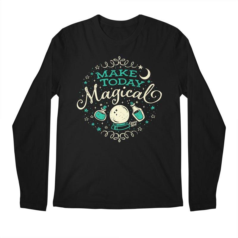 Make Today Magical Men's Longsleeve T-Shirt by Casper Spell's Shop
