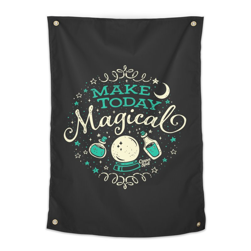 Make Today Magical Home Tapestry by Casper Spell's Shop